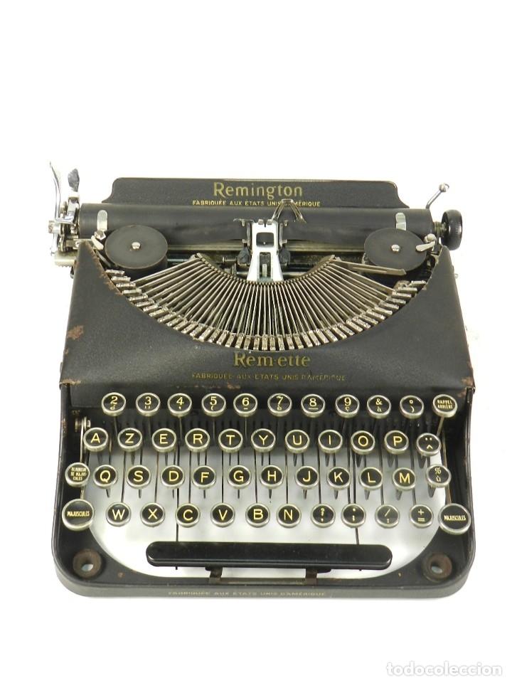 MAQUINA DE ESCRIBIR REMINGTON REM-ETTE AÑO 1939 TYPEWRITER SCRHEIBMASCHINE (Antigüedades - Técnicas - Máquinas de Escribir Antiguas - Otras)