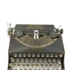 Antigüedades: MAQUINA DE ESCRIBIR REMINGTON REM-ETTE AÑO 1939 TYPEWRITER SCRHEIBMASCHINE. Lote 180479885