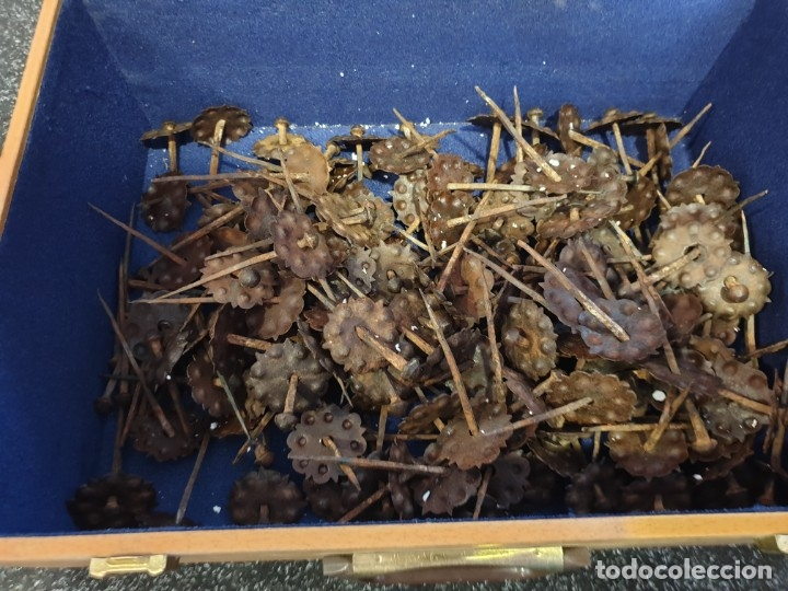 Antigüedades: Clavos antiguos de forja - Foto 2 - 180862872