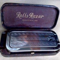 Antigüedades: ROLLS RAZOR,MODELO IMPERIAL Nº3,MAQUINILLA DE AFEITAR Y AFILADOR,EXCELENTE ESTADO (VER DESCRIPCIÓN). Lote 180910051