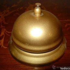 Antigüedades: TIMBRE LLAMADOR HOTEL METÁLICO BUEN ESTADO. Lote 180934712