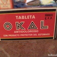 Antigüedades: ANTIGUA CAJA DE MEDICAMENTO OKAL . Lote 181008643