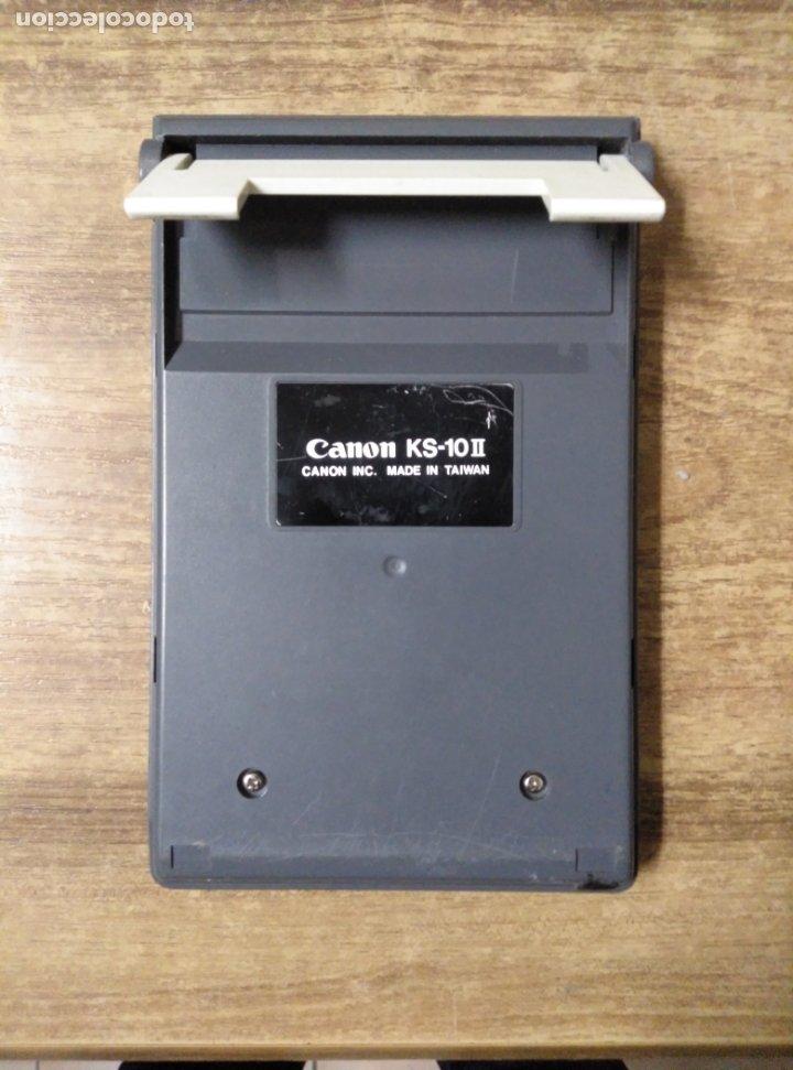 Antigüedades: mff.- calculadora canon electronic calculator KS-10.- 17 x 10,5.- - Foto 2 - 181010636