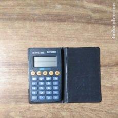 Antigüedades: MFF.- CALCULADORA CITIZEN DE-210. 10-DIGIT.ELECTRONIC CALCULATOR. JAPAN.-11X6.50.- EXCHANGER EUROS.-. Lote 181011577