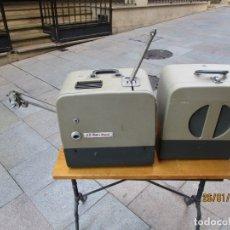 Antigüedades: ANTIGUO PROYECTOR SONORO Y PORTATIL 16MM BELL & HOWELL, MODELO 630 PROJECTOR - VER FOTOS + INFO. Lote 181153485