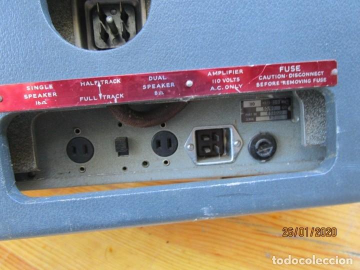 Antigüedades: ANTIGUO PROYECTOR SONORO Y PORTATIL 16MM BELL & HOWELL, MODELO 630 PROJECTOR - VER FOTOS + INFO - Foto 16 - 181153485
