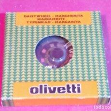 Antigüedades: MARGARITA MAQUINA ESCRIBIR OLIVETTI - 12 ITALICO 1 340. Lote 181396197