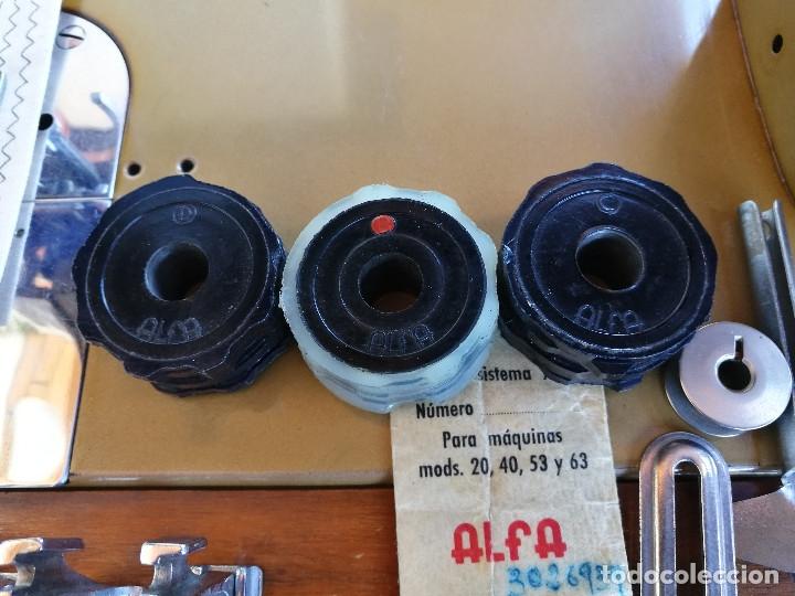 Antigüedades: Máquina de coser ALFA - Foto 3 - 181415473