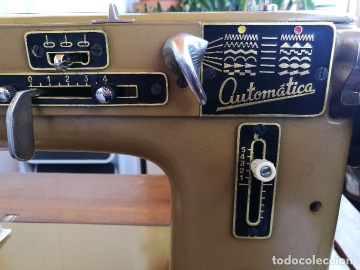 Antigüedades: Máquina de coser ALFA - Foto 6 - 181415473