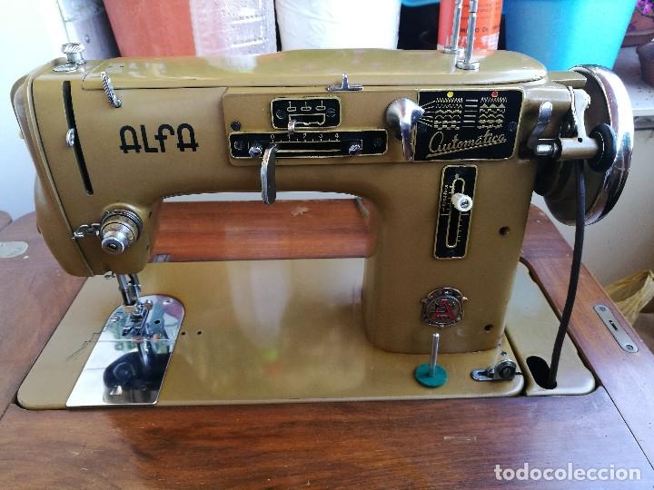 Antigüedades: Máquina de coser ALFA - Foto 10 - 181415473