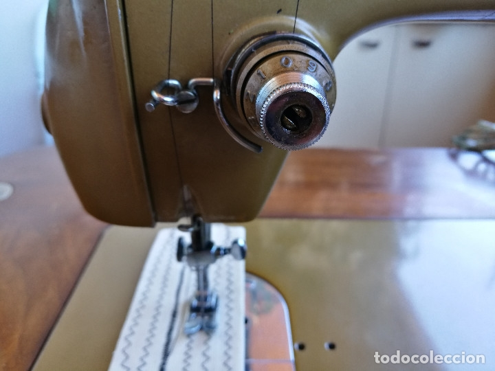 Antigüedades: Máquina de coser ALFA - Foto 12 - 181415473