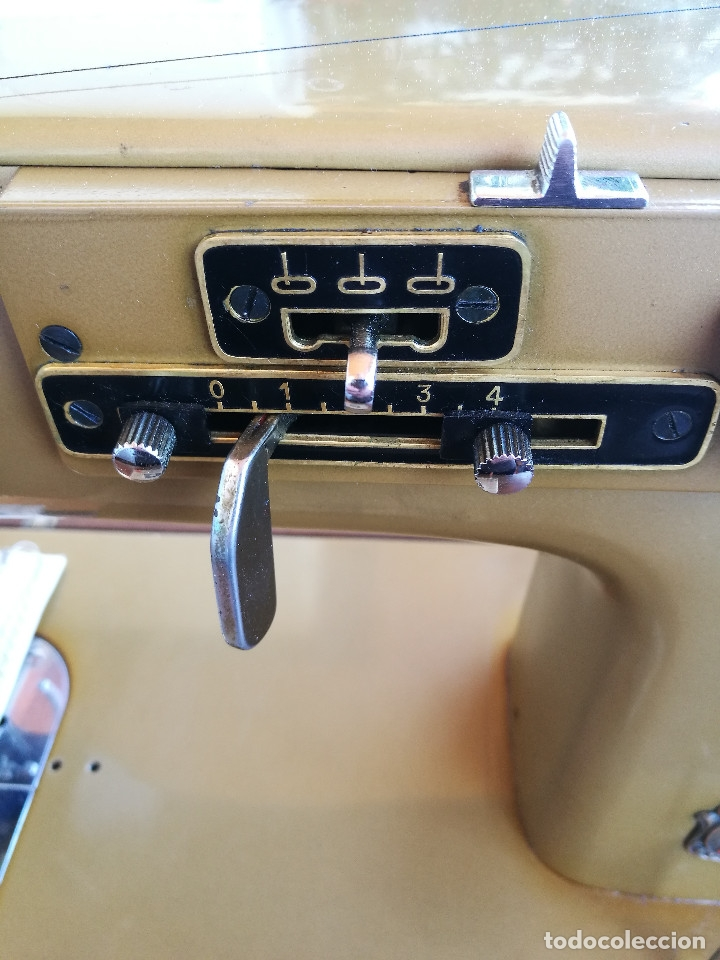Antigüedades: Máquina de coser ALFA - Foto 16 - 181415473