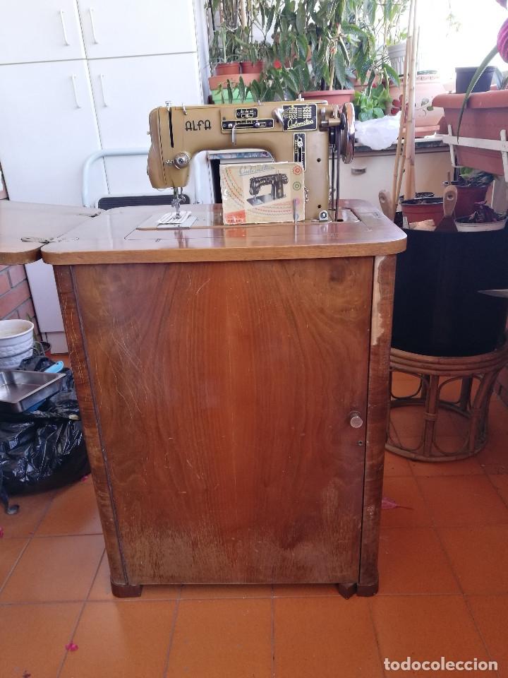 Antigüedades: Máquina de coser ALFA - Foto 18 - 181415473