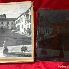 Antigüedades: MONUMENTO A MANOLETE EN LA PLAZA CONDE DE PRIEGO CORDOBA, PLANCHA OFFSET NEGATIVO Y POSITIVO, LEER D. Lote 181421803
