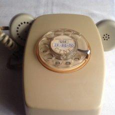 Teléfonos: ANTIGUO TELÉFONO DE PARED AÑOS 70, MARCACIÓN POR RUEDAS.. Lote 181431251