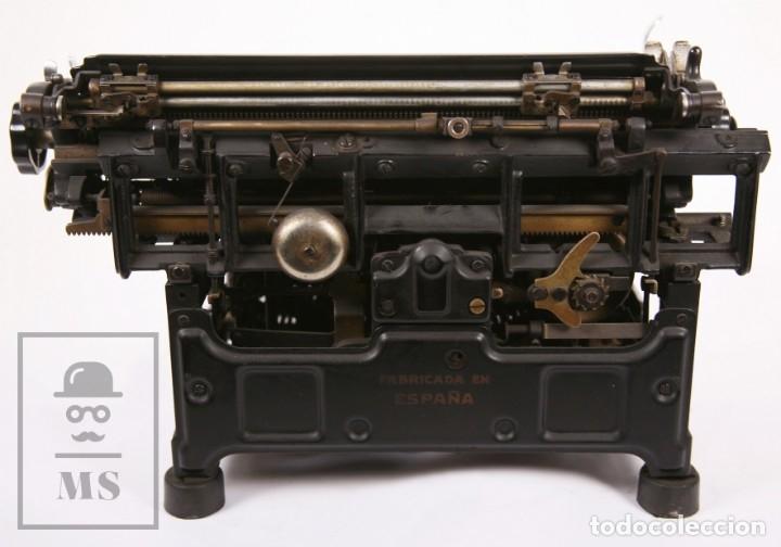 Antigüedades: Antigua Máquina de Escribir Hispano-Olivetti M 40 / H.O. S.A. - Barcelona, Años 30 - Foto 5 - 181454350