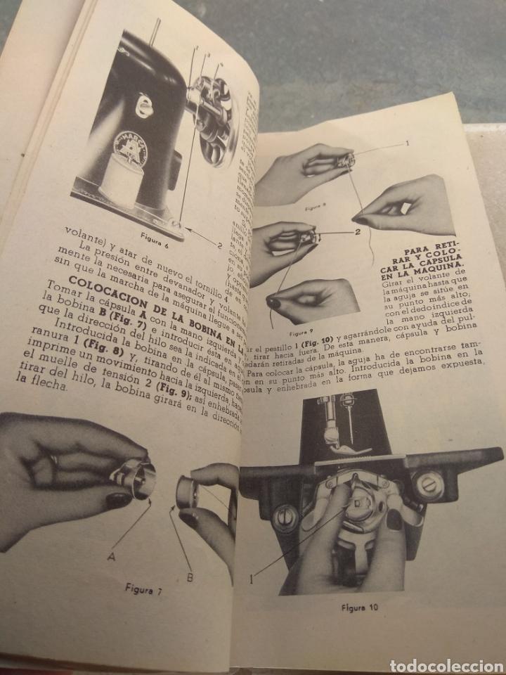 Antigüedades: Libro de Instrucciones Máquina de Coser Alfa de Bobina Central modelo 20 A - Foto 5 - 181482110