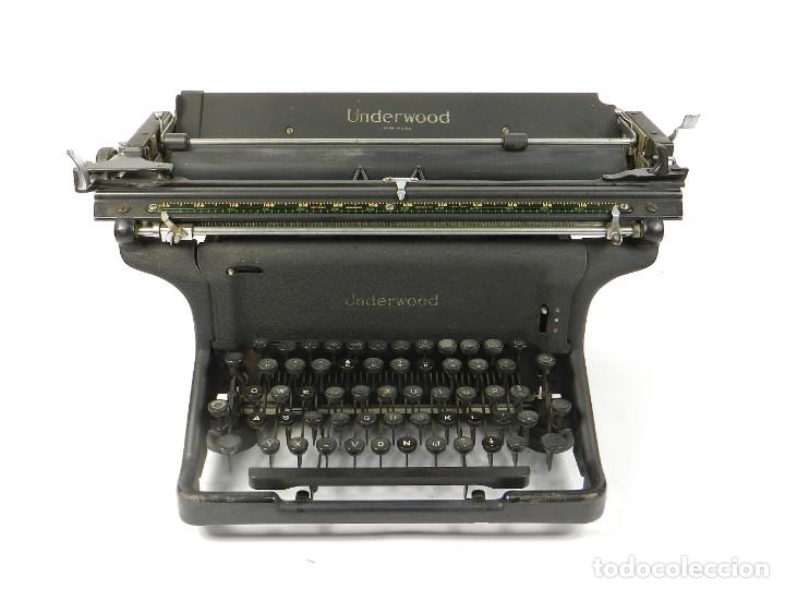 MAQUINA DE ESCRIBIR UNDERWOOOD STANDARD AÑO 1940 TYPEWRITER SCRHEIBMASCNINE (Antigüedades - Técnicas - Máquinas de Escribir Antiguas - Underwood)