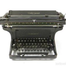 Antigüedades: MAQUINA DE ESCRIBIR UNDERWOOOD STANDARD AÑO 1940 TYPEWRITER SCRHEIBMASCNINE. Lote 181496931