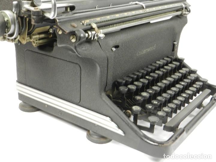 Antigüedades: MAQUINA DE ESCRIBIR UNDERWOOOD STANDARD AÑO 1940 TYPEWRITER SCRHEIBMASCNINE - Foto 6 - 181496931