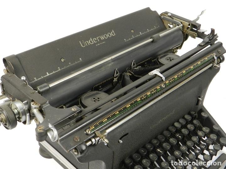 Antigüedades: MAQUINA DE ESCRIBIR UNDERWOOOD STANDARD AÑO 1940 TYPEWRITER SCRHEIBMASCNINE - Foto 7 - 181496931