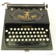 Antigüedades: MAQUINA DE ESCRIBIR OREL 30 AÑO 1929 TYPEWRITER SCRHEIBMASCNINE. Lote 181499026