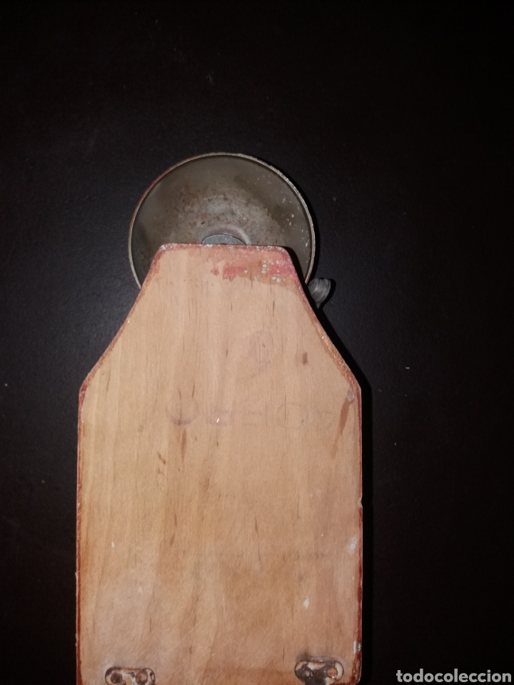 Teléfonos: Timbre en caja de madera. - Foto 2 - 181505815