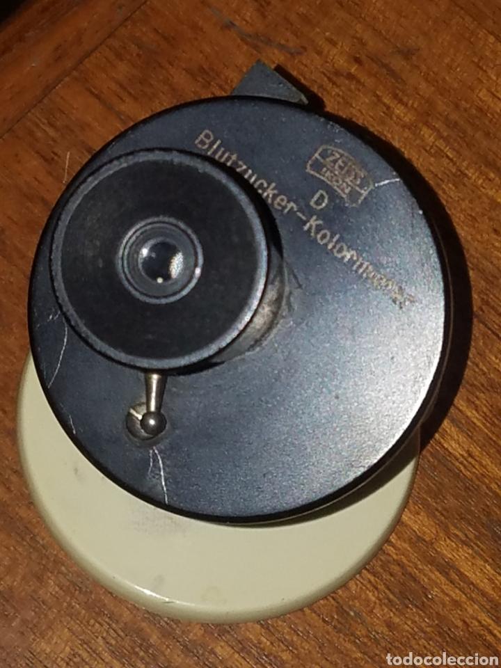 Antigüedades: Colorimetro Zeiss Ikon Kolorimeter Años 50 en su caja e instrucciones - Foto 2 - 181539056