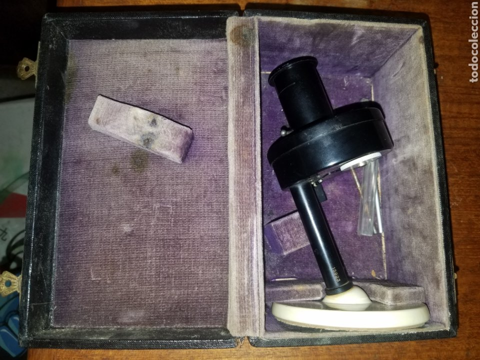 Antigüedades: Colorimetro Zeiss Ikon Kolorimeter Años 50 en su caja e instrucciones - Foto 4 - 181539056