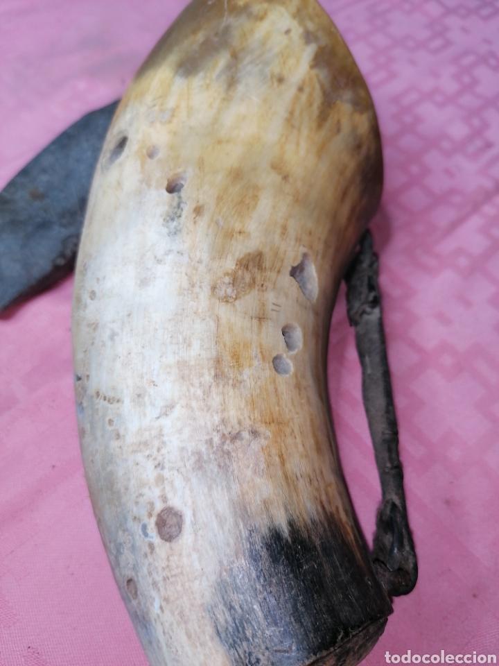 Antigüedades: Colodra de cuerno - Foto 4 - 181583863