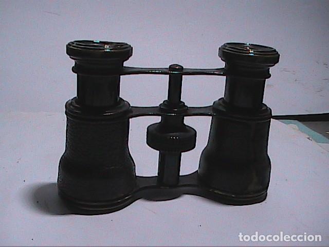 ANTIGUOS BINOCULARES FRANCESES DE OPERA. AÑOS 20. INSCRIPCIÓN 12 GLASSES. (Antigüedades - Técnicas - Instrumentos Ópticos - Binoculares Antiguos)