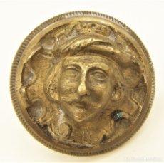Antigüedades: ANTIGUO Y RARO EMBELLECEDOR DE BRONCE. Lote 181609071