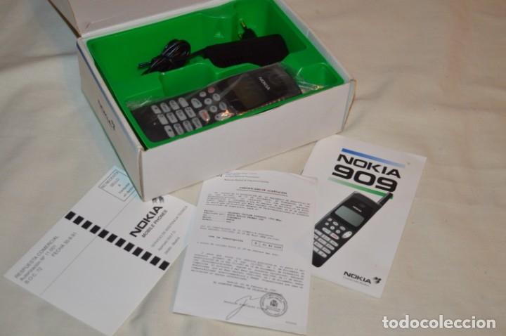 Teléfonos: VINTAGE / NOS - ¡Increible! - Teléfono NOKIA 909 - Año 1996 ¡Perfecto estado físico, nuevo, sin uso! - Foto 3 - 181613855
