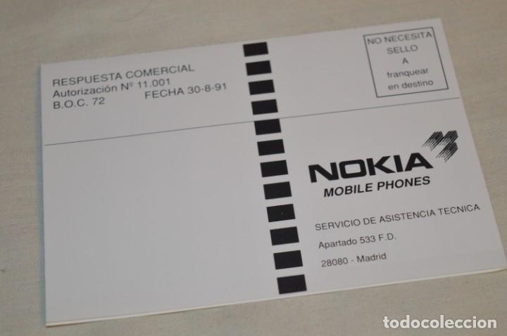 Teléfonos: VINTAGE / NOS - ¡Increible! - Teléfono NOKIA 909 - Año 1996 ¡Perfecto estado físico, nuevo, sin uso! - Foto 19 - 181613855