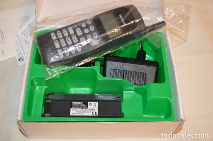 Teléfonos: VINTAGE / NOS - ¡Increible! - Teléfono NOKIA 909 - Año 1996 ¡Perfecto estado físico, nuevo, sin uso! - Foto 4 - 181613855