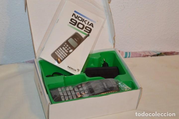 VINTAGE / NOS - ¡INCREIBLE! - TELÉFONO NOKIA 909 - AÑO 1996 ¡PERFECTO ESTADO FÍSICO, NUEVO, SIN USO! (Antigüedades - Técnicas - Teléfonos Antiguos)