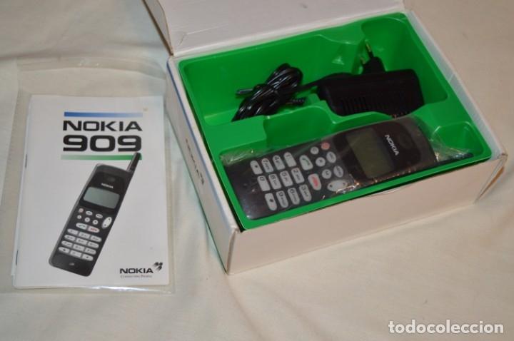 Teléfonos: VINTAGE / NOS - ¡Increible! - Teléfono NOKIA 909 - Año 1996 ¡Perfecto estado físico, nuevo, sin uso! - Foto 2 - 181613855