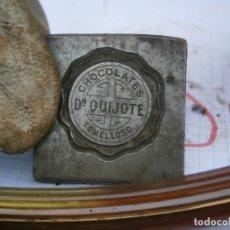 Antigüedades: MOLDE.ORIJINAL,DE.,PRINCIPIO,DE,1900,UNICO,EN,TC,CHOCOLATES QUIJOTE¡TOMELLOSO¡¡. Lote 181627691