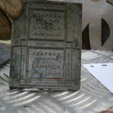 Antigüedades: MOLDE.ORIGINAL,DE.,PRINCIPIO,DE,1900,UNICO,EN,TC, AZAFRAN (LECERA ZARAGOZA). Lote 181694465