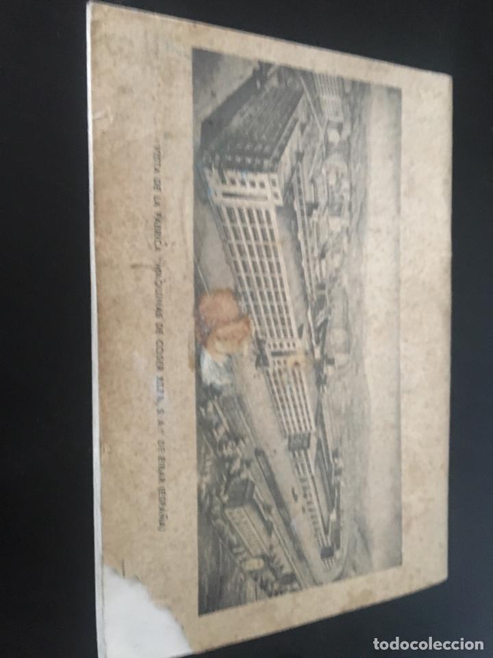 Antigüedades: INSTRUCCIONES PARA EL USO DE LA MÁQUINA DE COSER Y BORDAR ALFA - Foto 4 - 181751151
