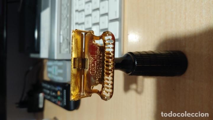 Antigüedades: maquinilla de afeitar gem - Foto 2 - 181850253