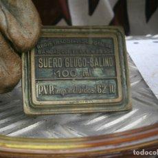 Antigüedades: MOLDE.ORIGINAL,DE.,PRINCIPIO,DE,1900,UNICO,EN,TC,SUERA,GLUCO,SALINO¡. Lote 181962662