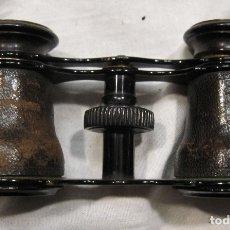 Antigüedades: ANTIGUO PRISMÁTICOS. METAL Y FORRADOS DE CUERO. JUMELLE DUCHESSE. 5 X 10 X 3 CM. Lote 182004280