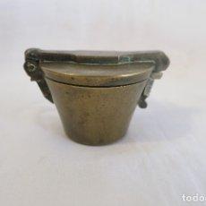 Antigüedades: PONDERAL DE VASO ANIDADO ESPAÑOL. Lote 182006898
