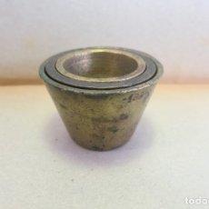 Antigüedades: 3 VASOS ANIDADOS METRICOS PONDERALES. Lote 182007040