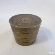 Antigüedades: PILA DE VASOS ANIDADOS DE UNA LIBRA 464 GRAMOS. Lote 182015620