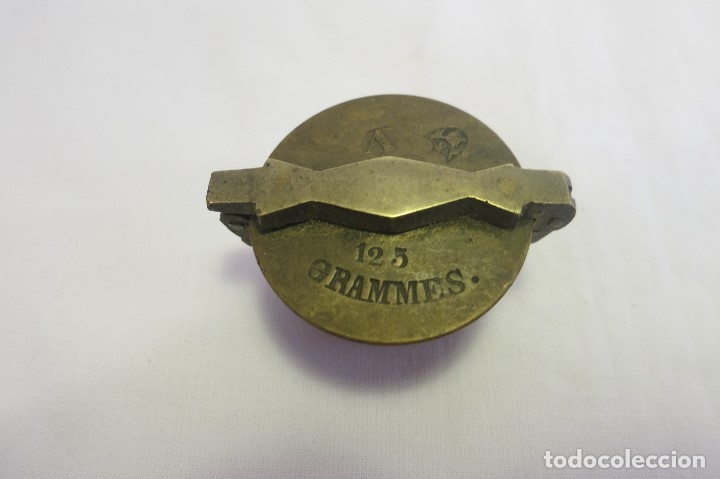 VASO ANIDADO METRICO A 1870 ESPAÑA (Antigüedades - Técnicas - Medidas de Peso - Ponderales Antiguos)