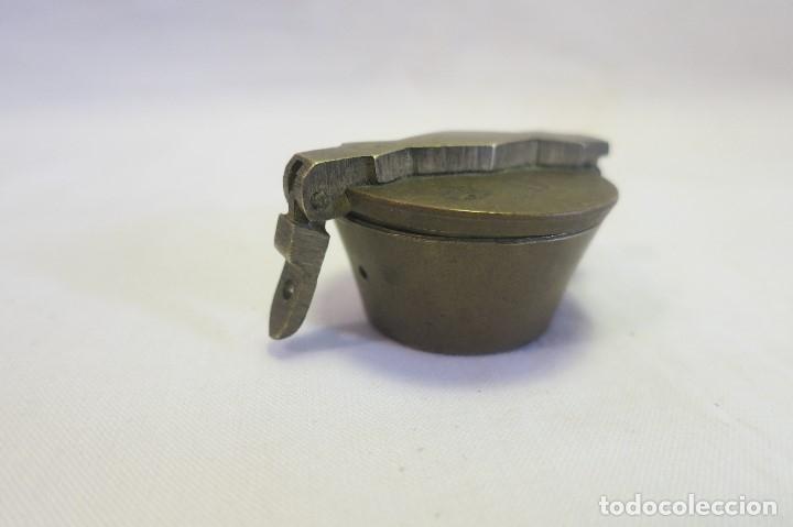 Antigüedades: vaso anidado metrico A 1870 España - Foto 6 - 182022351