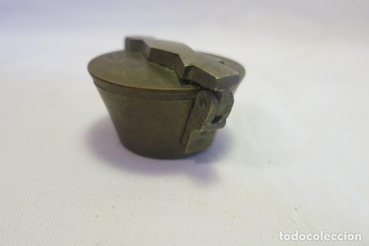 Antigüedades: vaso anidado metrico A 1870 España - Foto 7 - 182022351