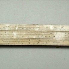Antigüedades: REGLA DE CÁLCULO UNIQUE ELECTRICAL SLIDE RULE. FABRICADA EN INGLATERRA (VER DESCRIPCIÓN) . Lote 182044490